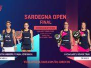 En directo las finales del Sardegna Open 2020