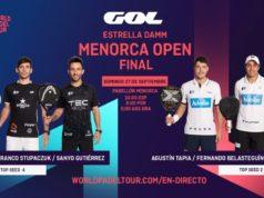 En directo las finales del Estrella Damm Menorca Open 2020