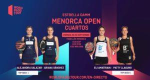 En directo los cuartos de final femeninos del Estrella Damm Menorca Open 2020