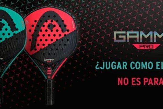 Head presenta la nueva versión de las palas Graphene 360 Gamma Pro y Motion