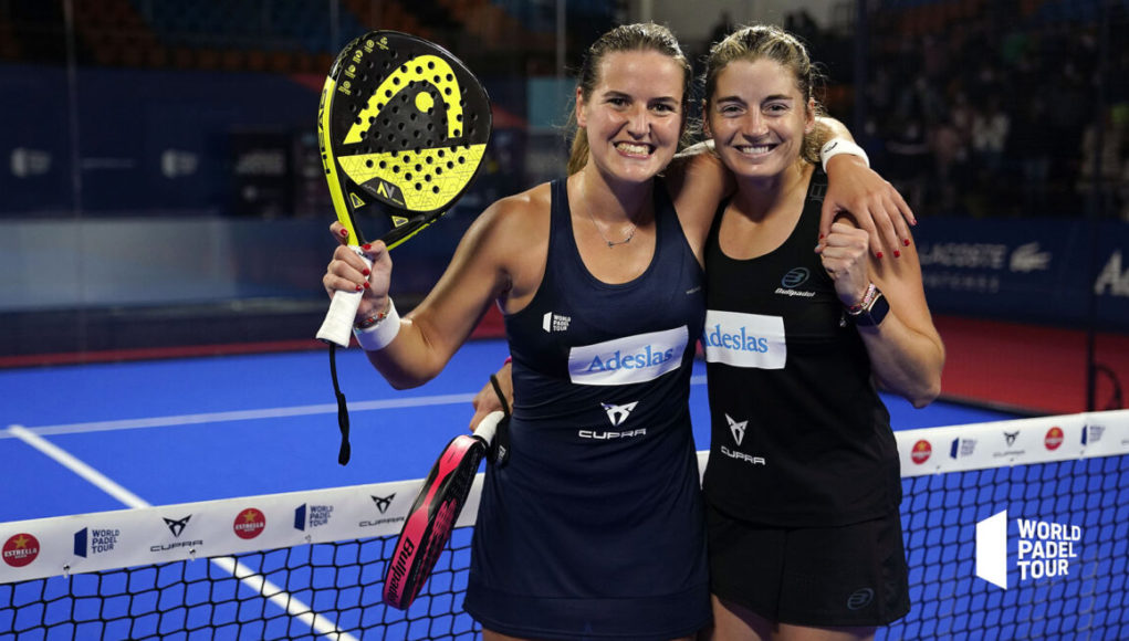 Ale y Ari suman su tercer título de la temporada en el Estrella Damm Menorca Open 2020