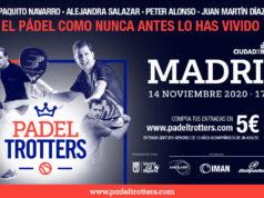 Padel Trotters vuelve a Madrid para vibrar con el mayor show sobre una pista de pádel