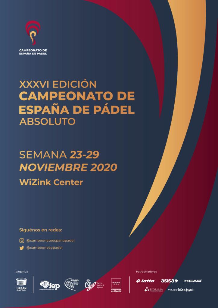 El Wizink Center acogerá el Campeonato de España de Pádel