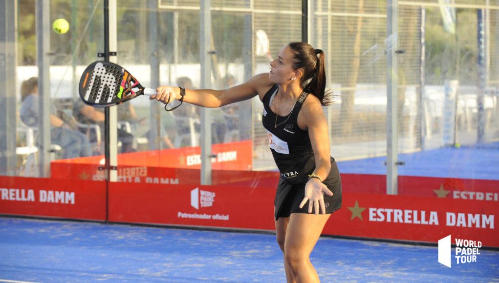 Sofia Araújo baja en el Estrella Damm Barcelona Master 2020
