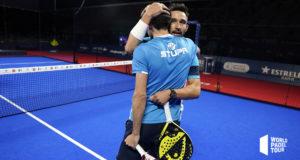 Sanyo Gutiérrez y Franco Stupaczuk se crecen en la adversidad en las semifinales del Estrella Damm Barcelona Master 2020