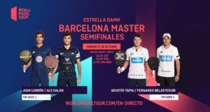 En directo las semifinales del turno de tarde del Estrella Damm Barcelona Master 2020