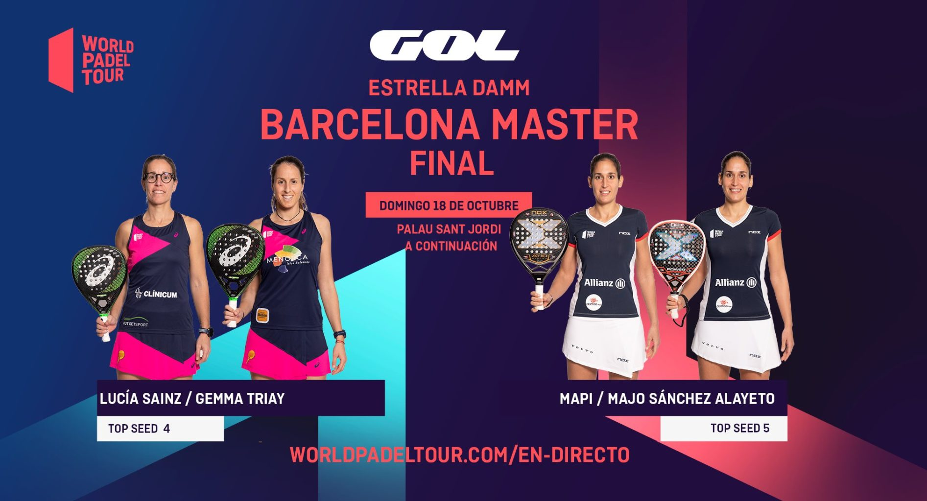 En directo las finales del Estrella Damm Barcelona Master 2020