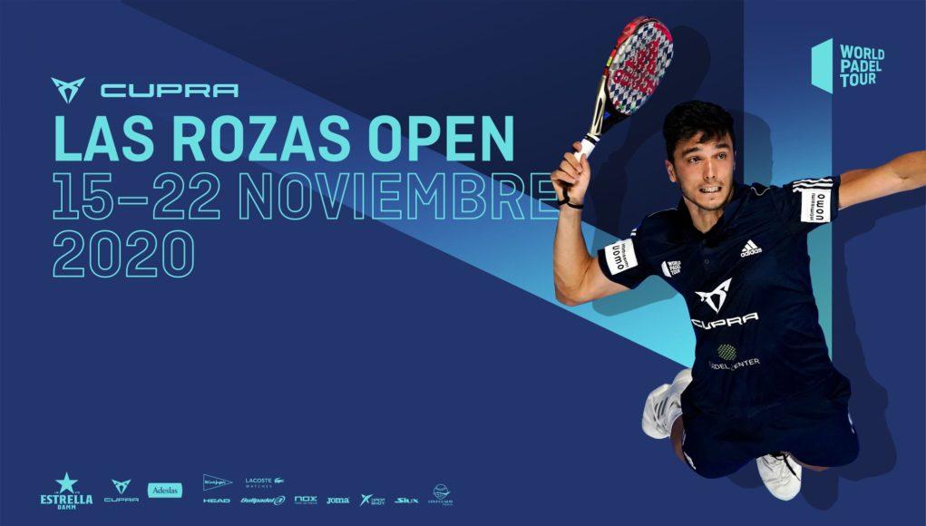 El Cupra Las Rozas Open 2020 cerrará la temporada regular del circuito World Padel Tour