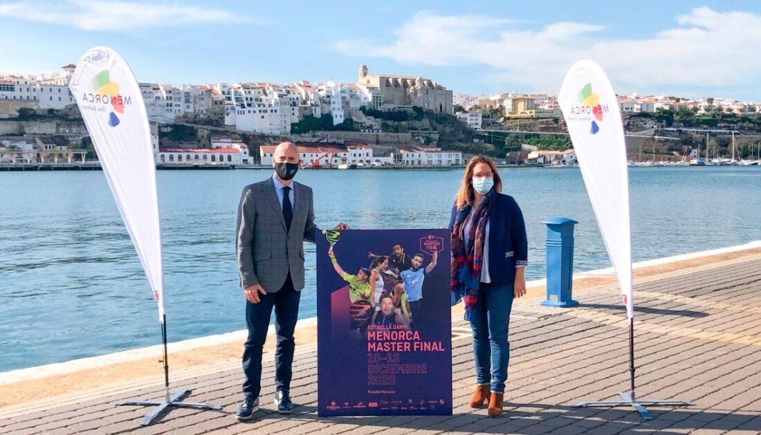 Presentación en Menorca del Estrella Damm Master Final 2020