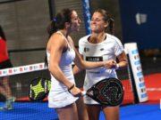 Mari Carmen Villalba y Verónica Virseda se separan tras su participación en el Open de Alicante