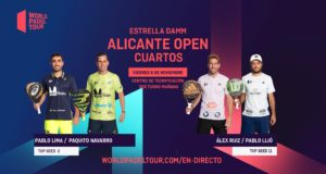 En directo los cuartos de final masculinos del Estrella Damm Alicante Open 2020