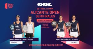 En directo las semifinales del turno de mañana del Estrella Damm Alicante Open 2020