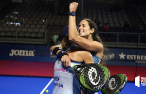 Lucía Sainz y Gemma Triay protagonizan una remontada de campeonato en el Estrella Damm Alicante Open 2020