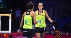 Patty Llaguno y Eli Amatriaín apean en cuartos a las Martas del Campeonato de España de Pádel 2020