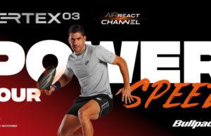 Nueva línea VERTEX, con AIR REACT CHANNEL®