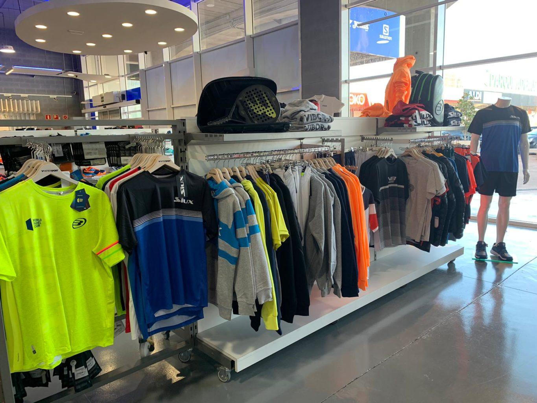 Nueva tienda Padel Nuestro en Intersport Ademuz
