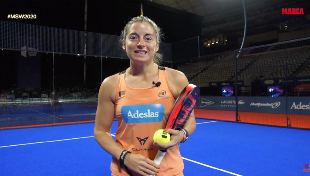 Masterclass de pádel de Alejandra Salazar en el Marca Sport Weekend