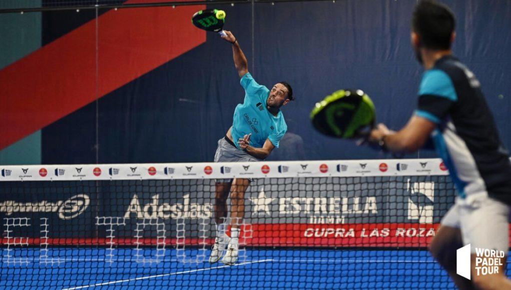 Pablo Lijó y Álex Ruiz amargan a Sanyo Gutiérrez y Frnaco Stupaczuk su debut en el Cupra Las Rozas Open