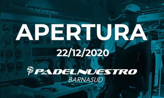Padel Nuestro inaugura la tienda de Intersport Barnasud