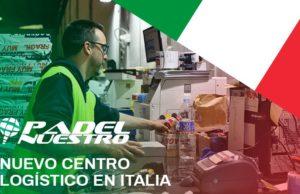Padel Nuestro abre un centro logístico en Italia y continúa su expansión internacional