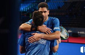 Maxi Sánchez y Martín Di Nenno tiran de épica para alcanzar las semifinales del Estrella Damm Menorca Master Final 2020