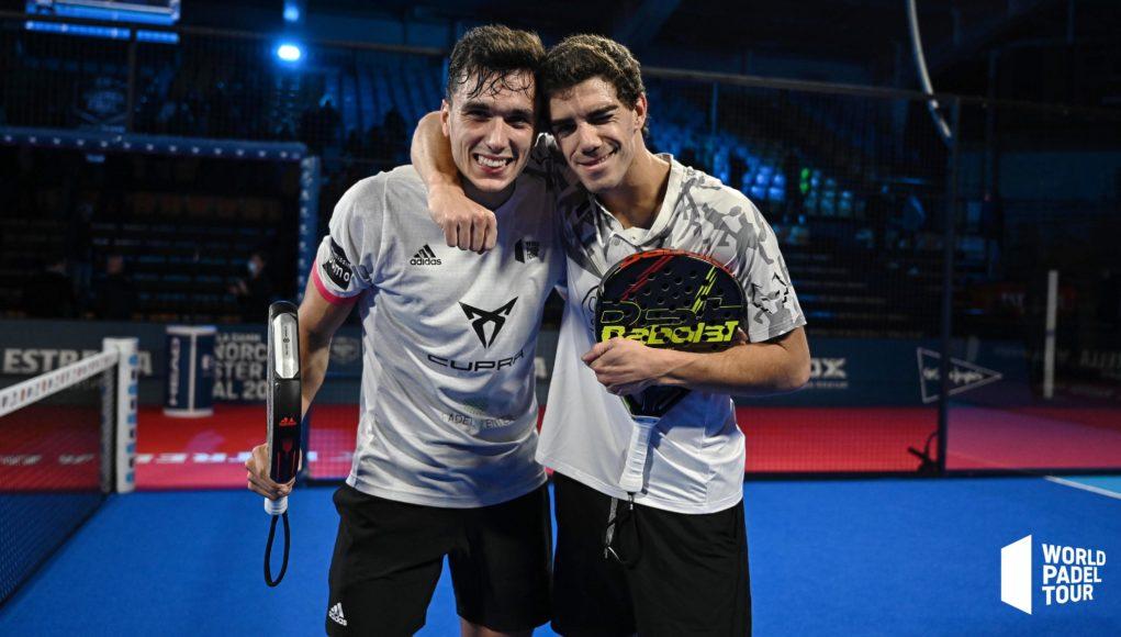 Los nº1 ponen rumbo a las semifinales del Estrella Damm Menorca Master Final 2020