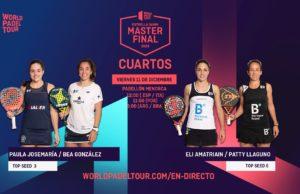 En directo la jornada matinal del viernes de los cuartos de final del Estrella Damm Menorca Master Final 2020