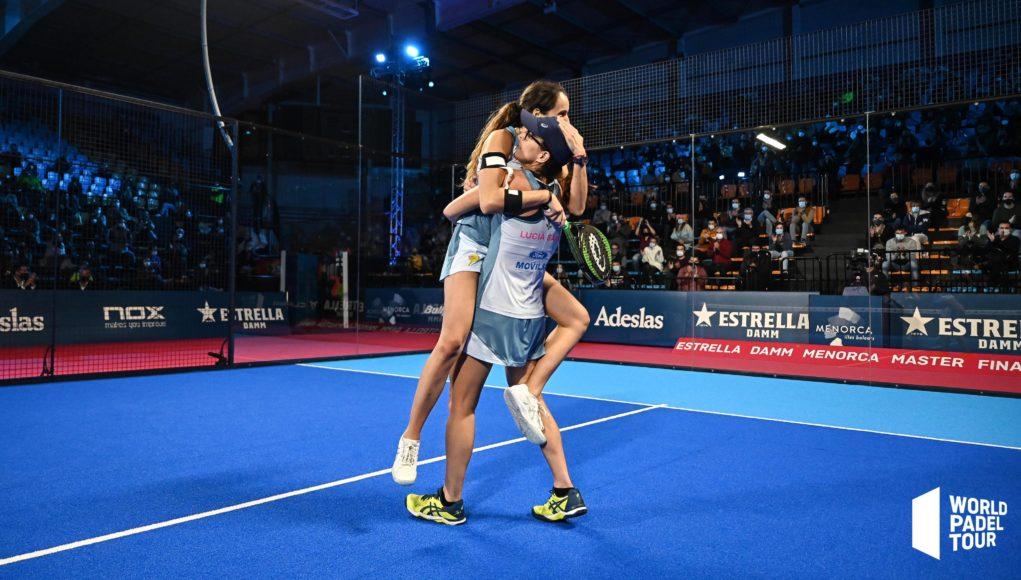 Vendaval de Gemma y Lucía en las semifinales del Estrella Damm Menorca Master Final 2020