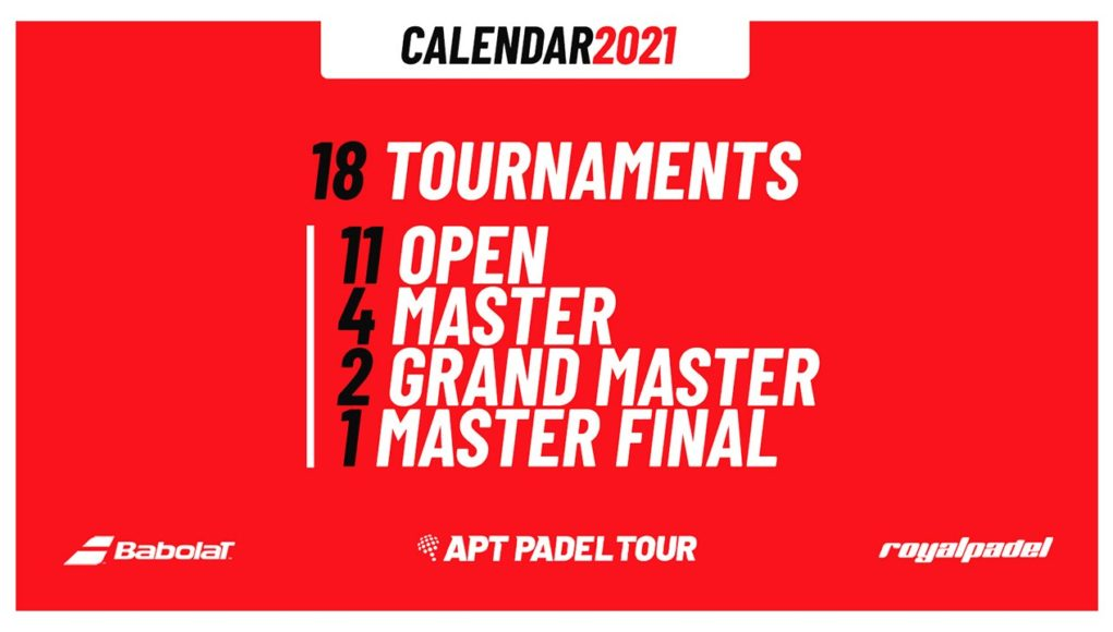 APT Pádel Tour presentó su calendario 2021