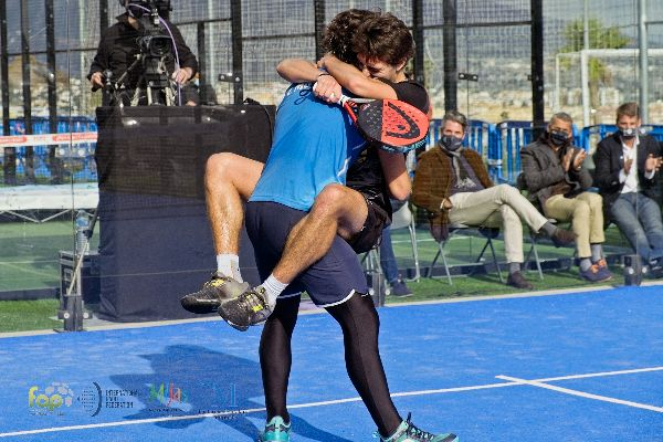 Jesús Moya y Edu Alonso repiten triunfo FIP en Andalucía