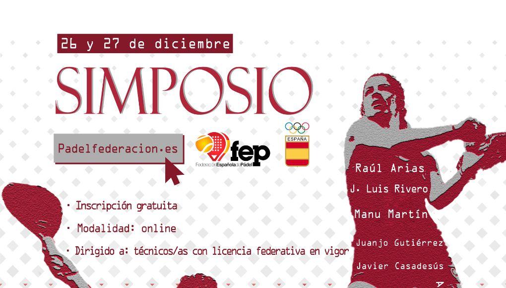 La FEP y el Comité Olímpico Español organizan un Simposio de Pádel para cerrar la temporada 2020