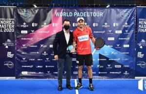 Fernando Belasteguín MVP del Menorca Master Final