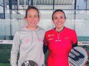 Patty Llaguno y Virginia Riera