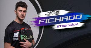 Miguel Semmler, quinto fichaje de Siux para 2021