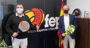 la Federación Española de Pádel