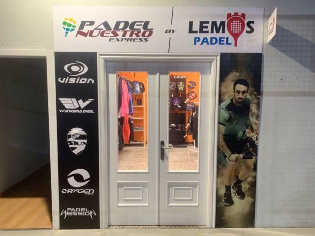 Galicia inaugura su segunda tienda Padel Nuestro Express