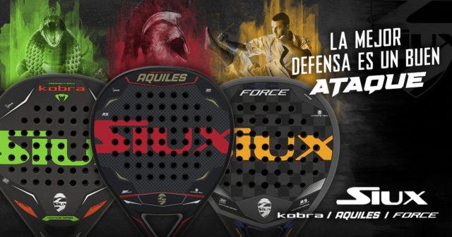 Siux lanza las nuevas Aquiles, Kobra y Force