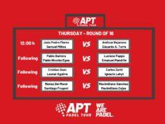 Octavos de final en directo del Asunción Open