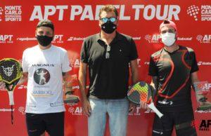 Fede Chiostri y Gonzalo Alfonso se proclaman campeones del Paraguay Master