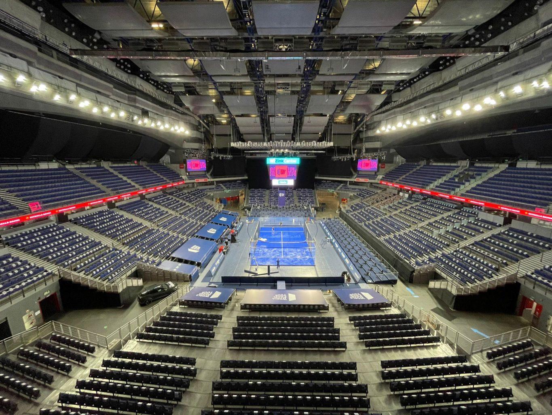 Pista central del Adeslas Madrid Open 2021