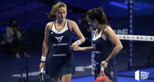 Paula Josemaría y Ariana Sánchez imponen su ley en los cuartos de final del Adeslas Madrid Open 2021