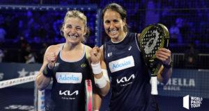Alejandra Salazar y Gemma Triay estarán en las semifinales del Adeslas Madrid Open 2021