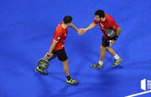Pablo Lima y Agustín Tapia se imponen en un duelo de altura en los cuartos de final del Adeslas Madrid Open 2021