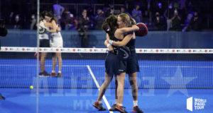 Ariana Sánchez y Paula Josemaría lanzadas a la final del Adeslas Madrid Open 2021