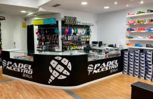 Llega la segunda tienda Padel Nuestro a Sevilla