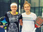 Ceci Reiter y Esther Carnicero nueva pareja en el circuito profesional