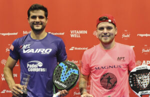 Chiostri y Melgratti campeones del Kungsbacka Open II