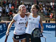Carolina Navarro y Eli Amatriaín campeonas del TAU Cerámica Calanda Challenger
