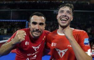 Pablo Lima y Agustín Tapia se abonan a la victoria