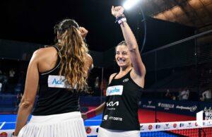 Quinto título de la temporada para Alejandra Salazar y Gemma Triay en Barcelona